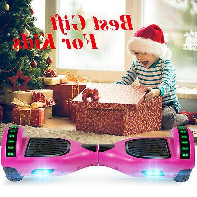 Bluetooth Hoverboard Self Scooter UL