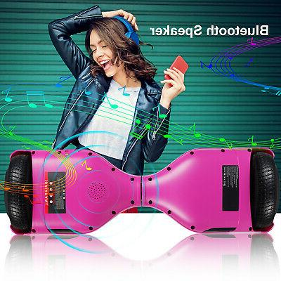 Bluetooth Hoverboard Self Scooter Lights Kids Adults UL