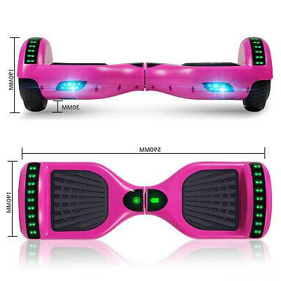 Bluetooth Hoverboard Balancing Scooter Lights Kids Bag UL
