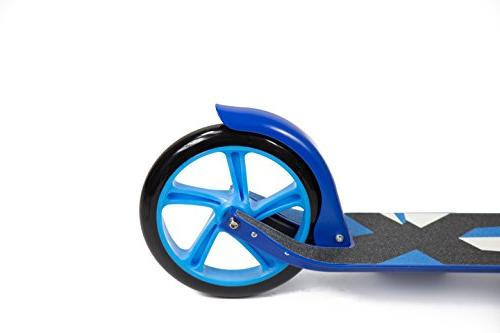 Kick Scooter w/Hand - 220lb Limit - - Adjustable Smooth Fast