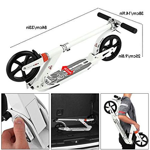 Hikole Commuter Adult Scooter Carrying Strap   Foldable   Scooter for Urban Riders and Kids