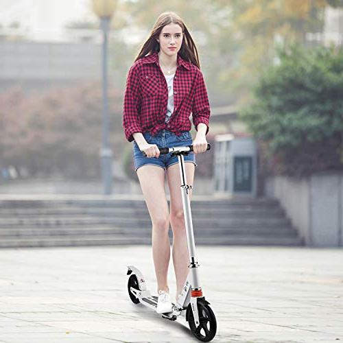 Hikole Kick Scooter Carrying   Portable   Aluminium Scooter for Urban and Kids