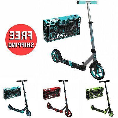 commuter scooter kick wheel kickstand adult kids