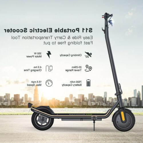 MAX Folding Kick Electric Scooter Double Brake Adult