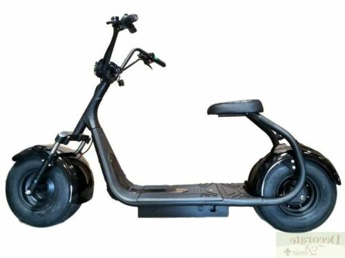 Electric Scooter 2000W Fat Tire Bike Motorcycle 18AH 60V Lit
