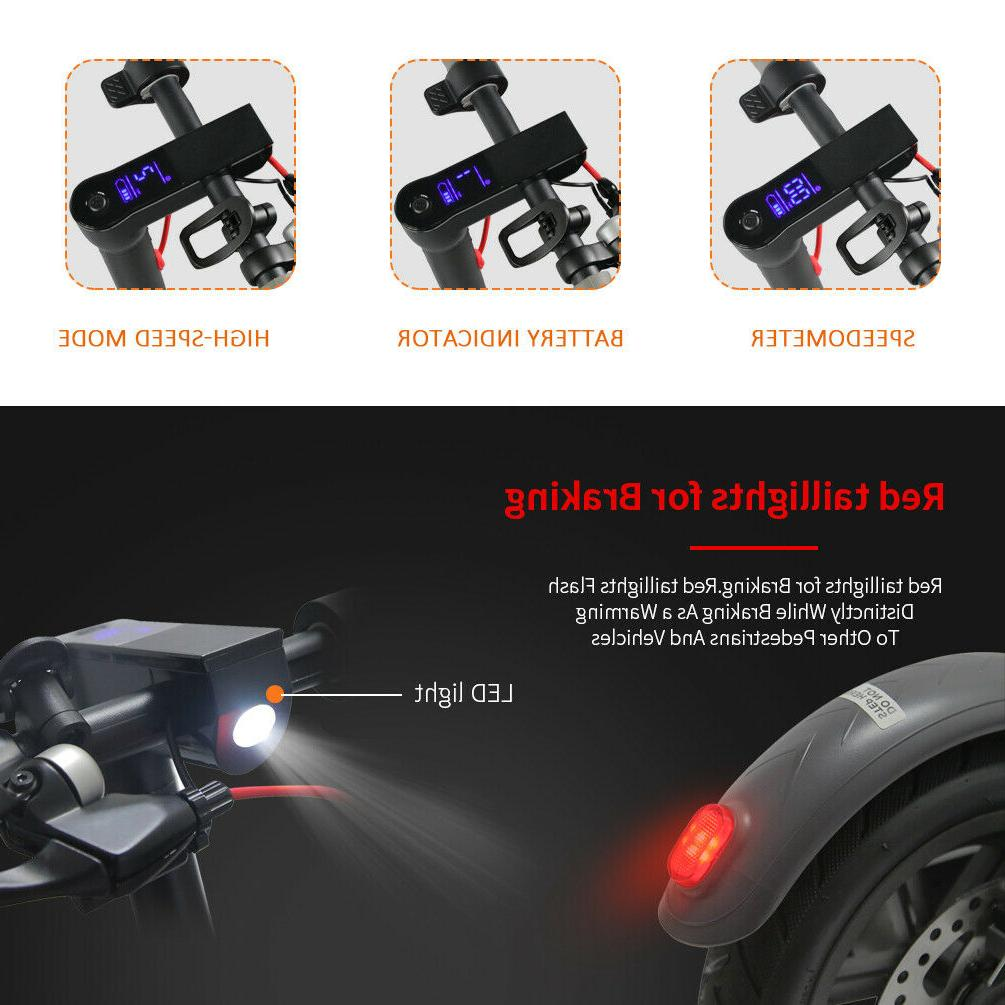 Motor Power, and Foldable, Black
