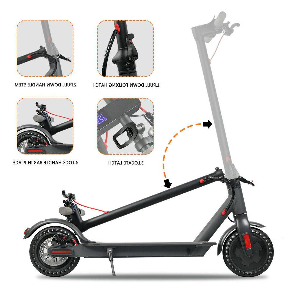 Beastron Electric Motor Power, and Foldable, Black