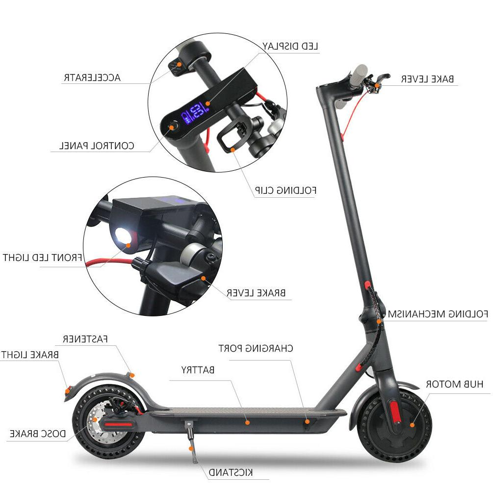 Beastron Scooter, Motor Foldable, Black