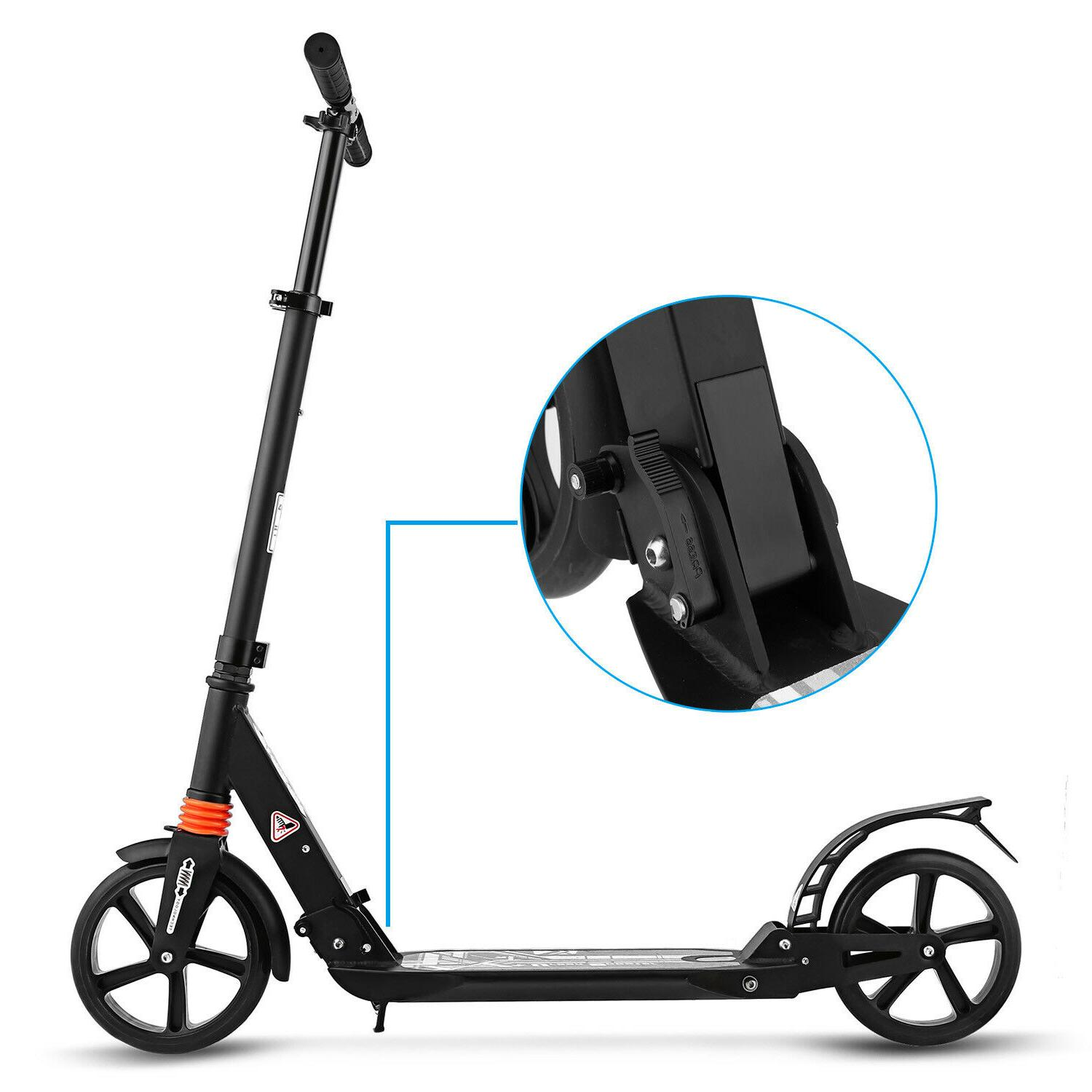 Ancheer Kick Scooter T-Style Black