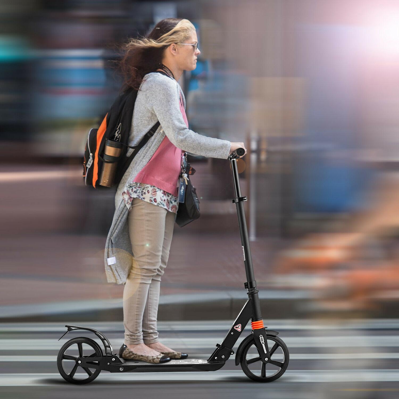 foldable aluminum alloy kick scooter adult student