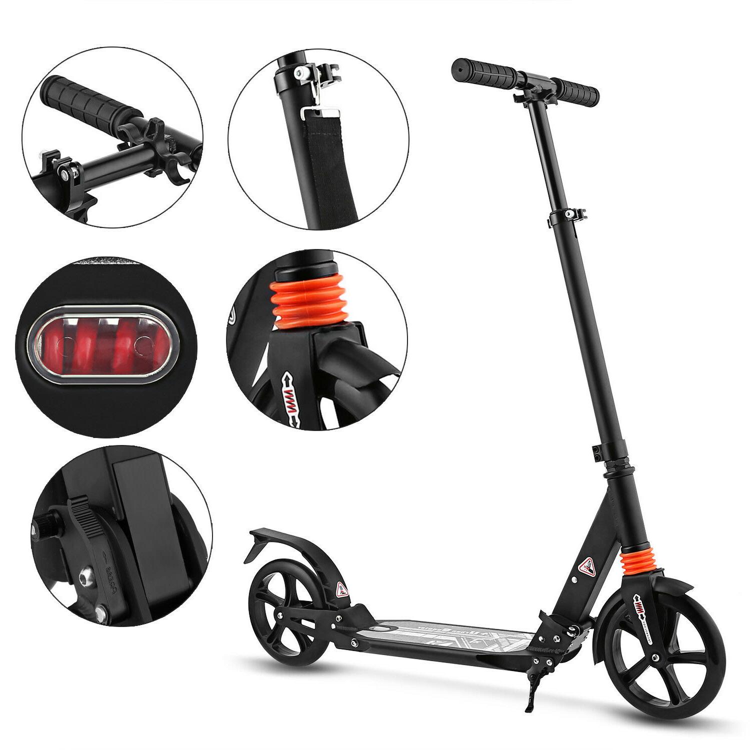 ANCHEER Scooter Scooter Kick Adjustable Height 2 Wheels
