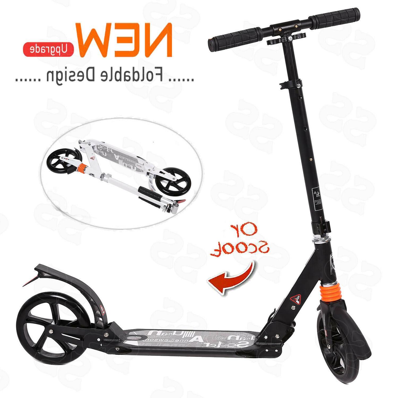 ANCHEER Folding Aluminum Scooter 2 Wheels Adjustable Height