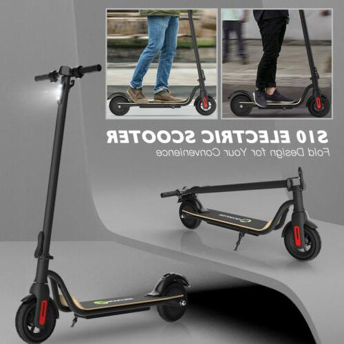 🛴FOLDING ELECTRIC SCOOTER 14MILES PORTABLE URBAN ADULT E-SCOOTER