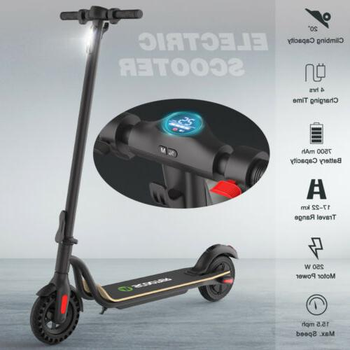 folding kick electric scooter 14miles aluminum portable