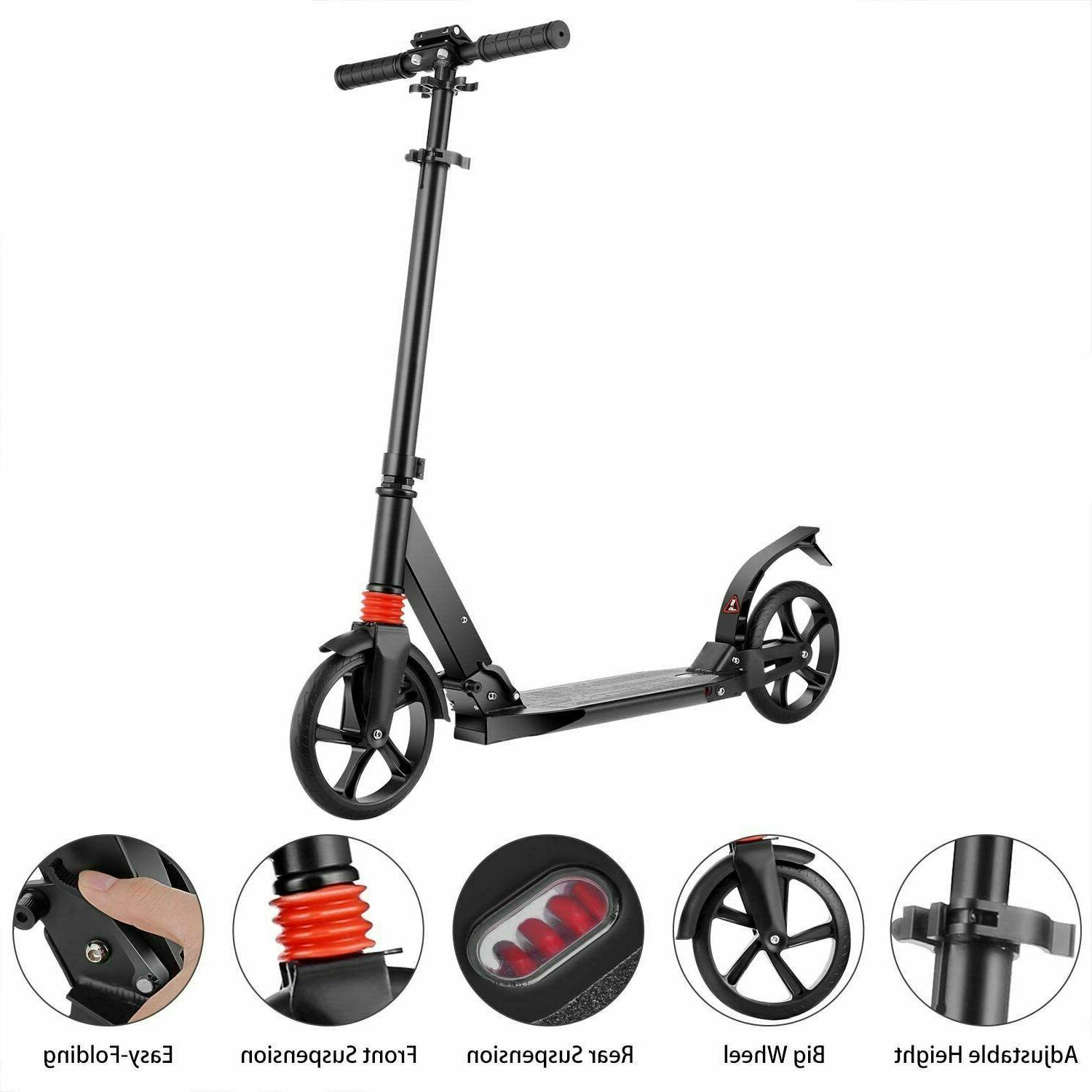 Folding Kick Scooter Level Outdoor Ride Kids