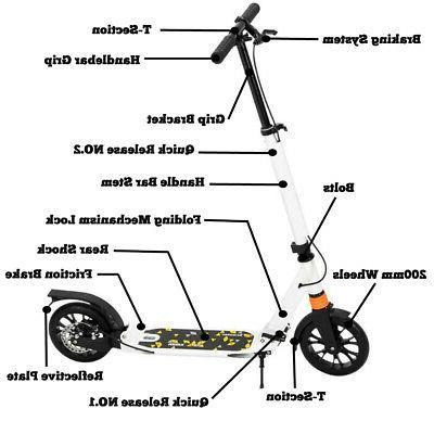 Scooter Trick Stunt Ride Lightweight