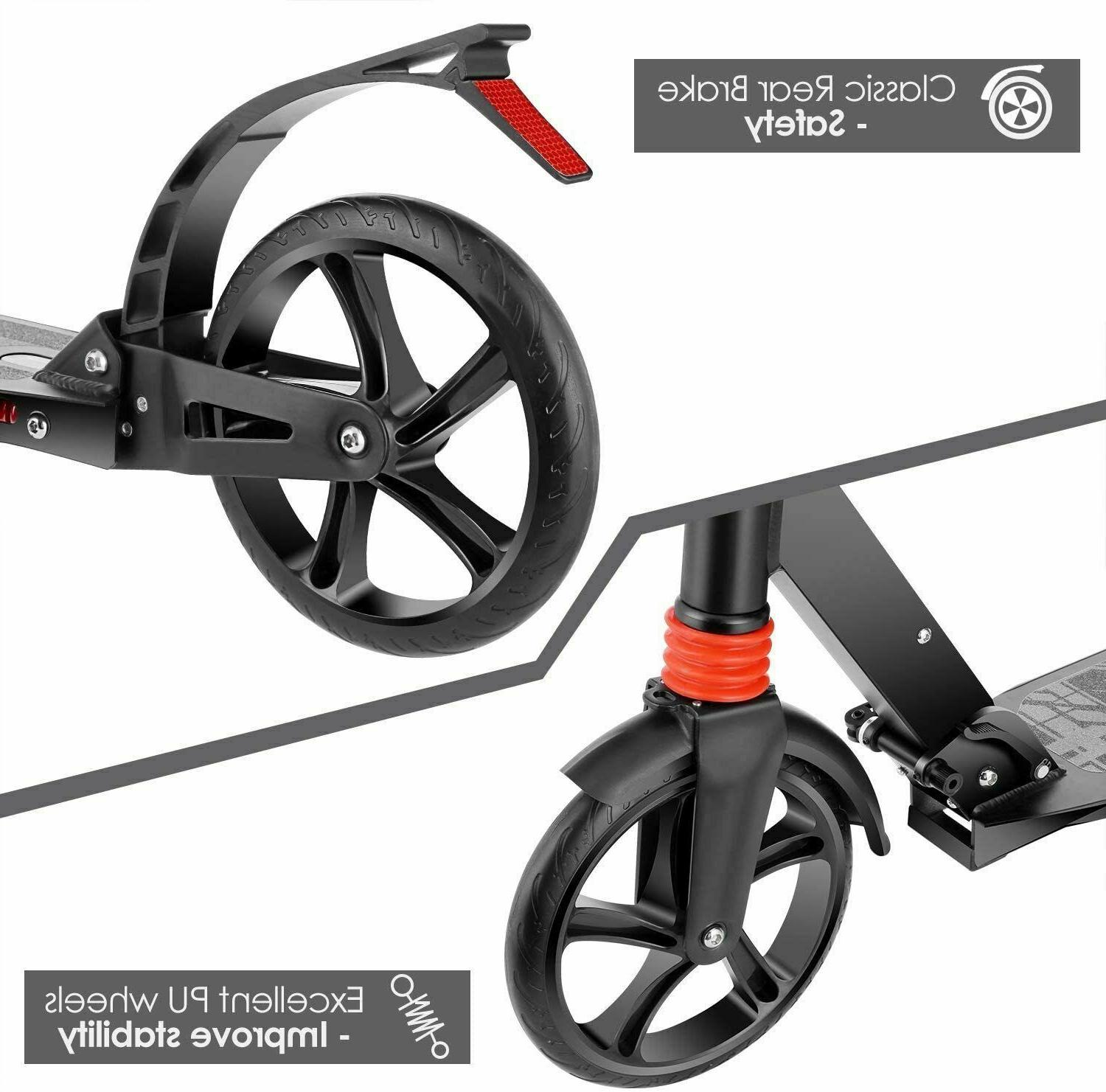 Folding Scooter 3 Level Outdoor Ride for Kids