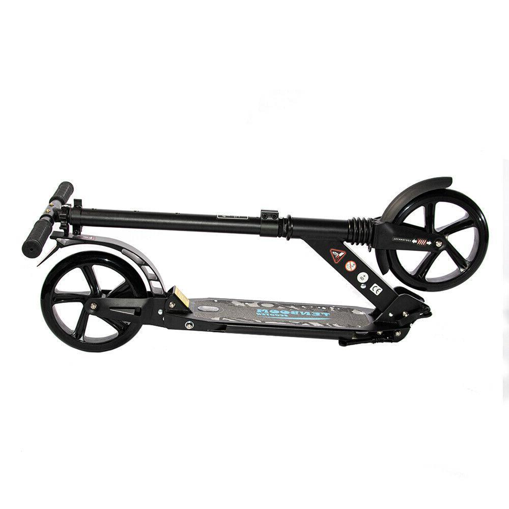 Folding Kick Adult Ride Portable Lightweight Adjustable