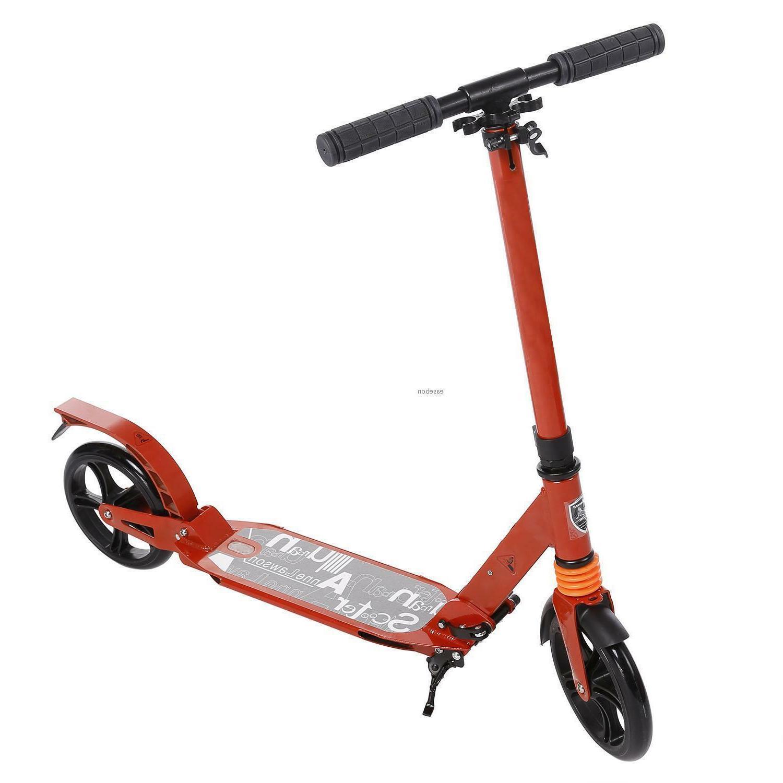 Lightweight Scooter Wheel Ride Adjustable Bar