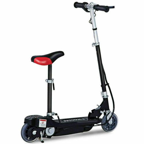 High-Torque Motor Electric Scooter w/Seat