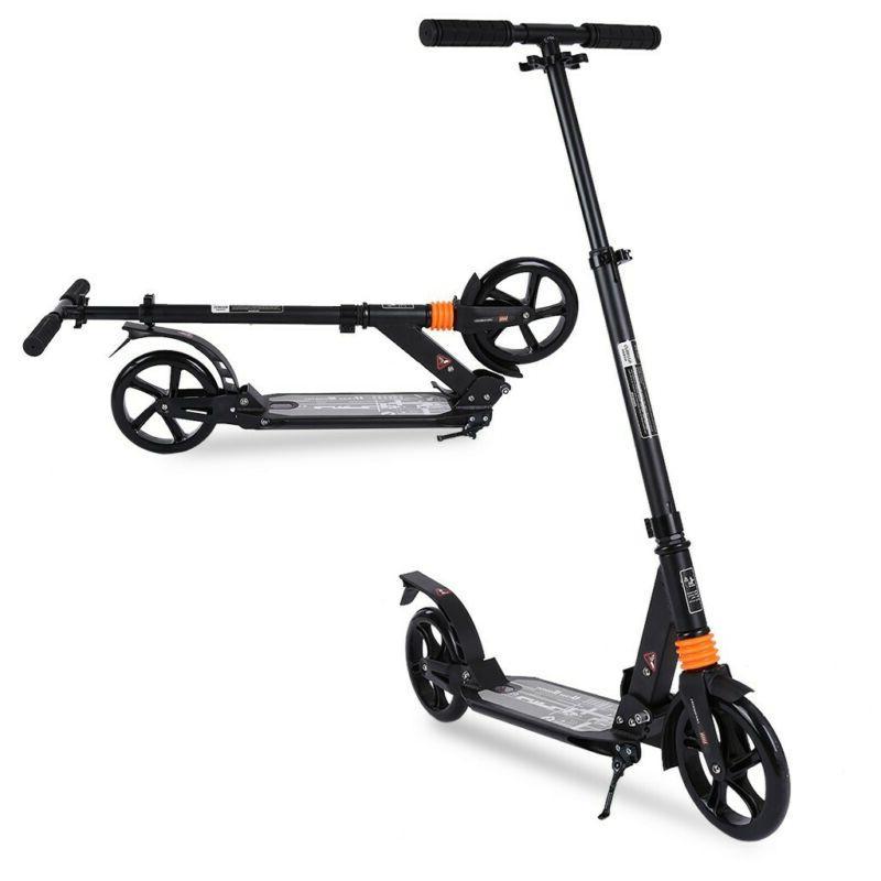 Adult Kick W/ Suspension,Hight-Adjustable Urban Big Wheels.