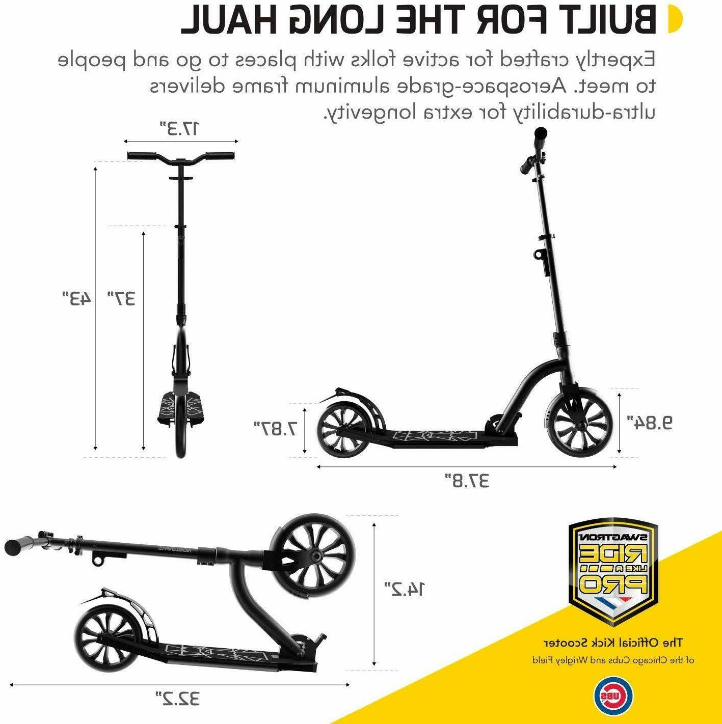 Scooter Height-Adjustable