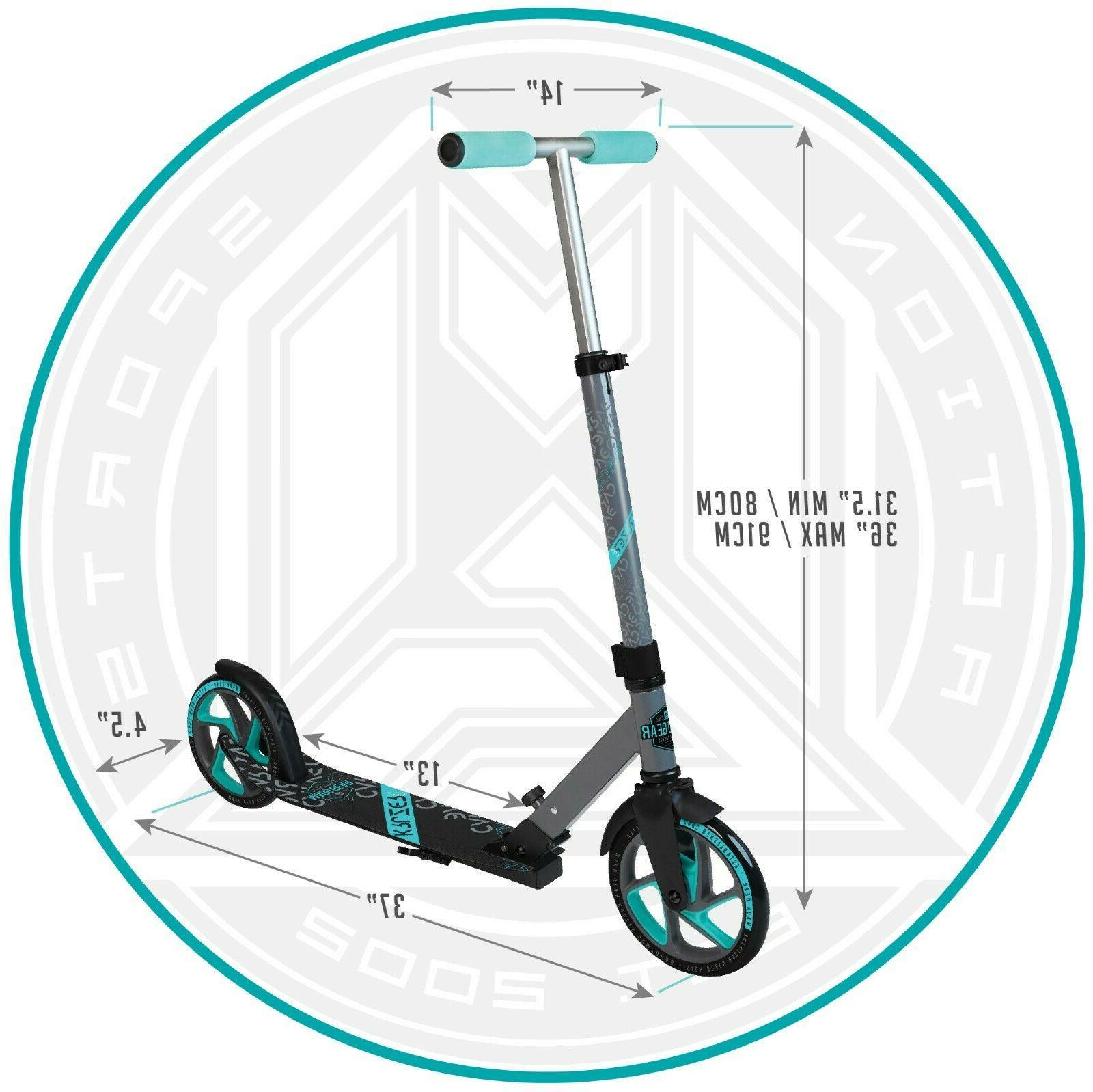 Kick Scooter Adults Kids Glider Foldable