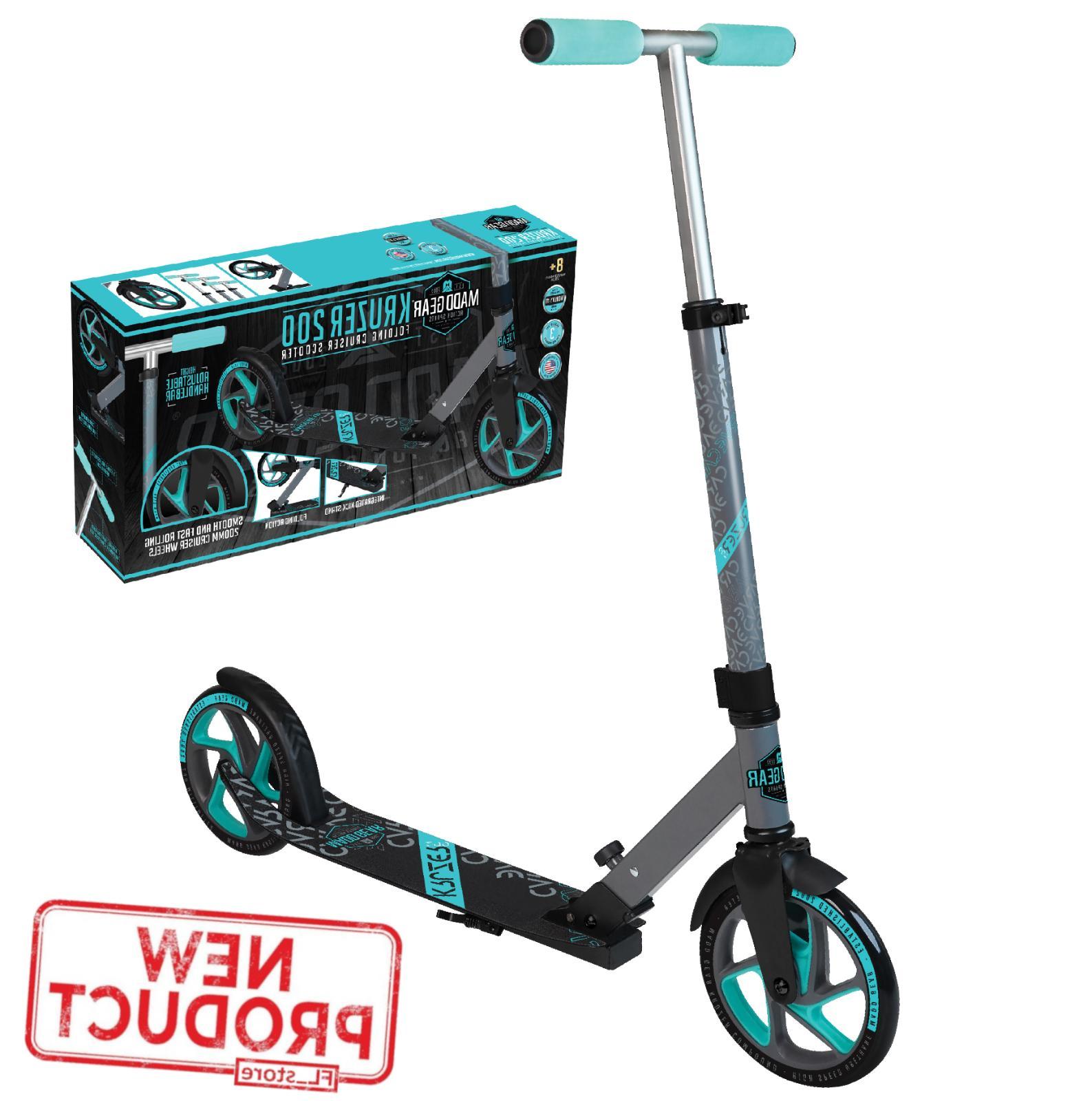 kick scooter wheel kickstand adults kids teens
