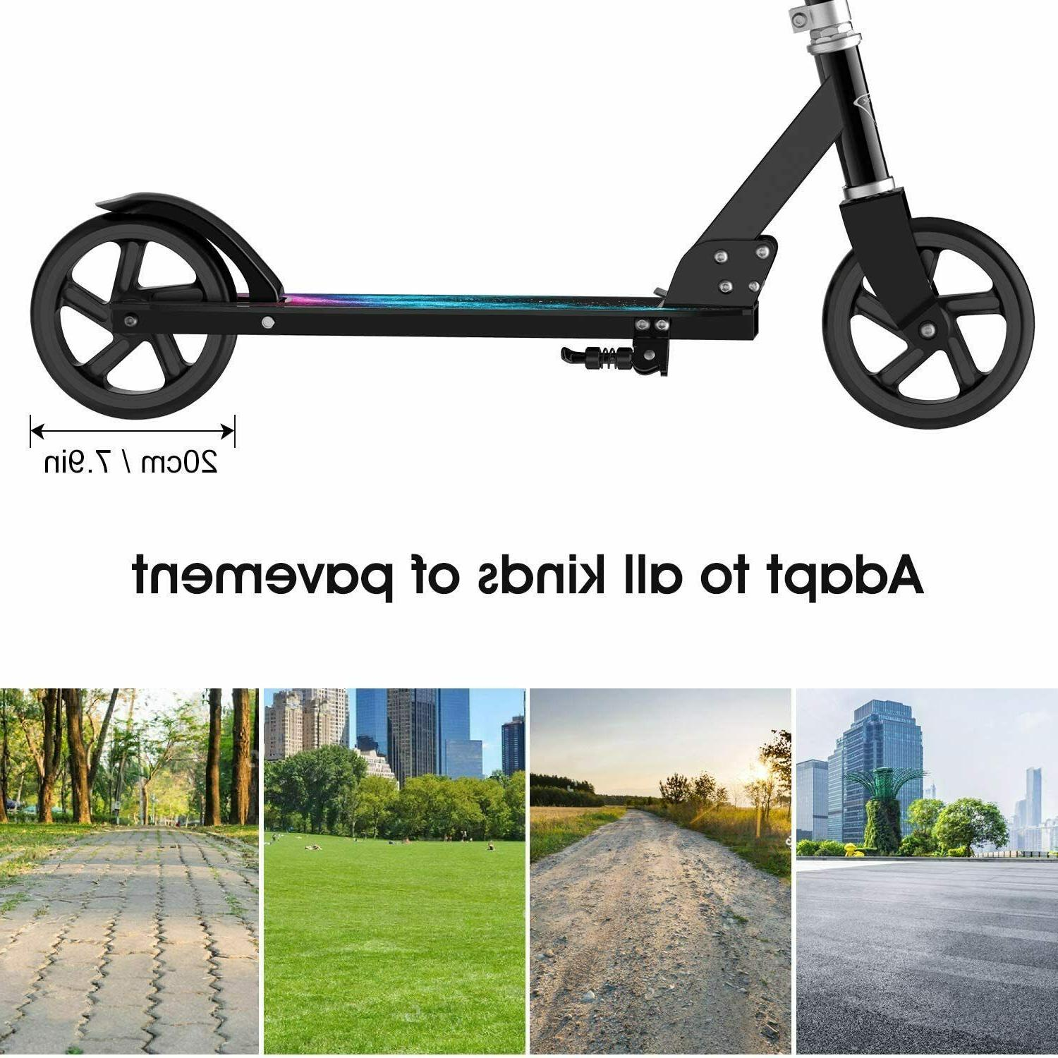 ENKEEO with 220 lbs Capacity, Scooters for