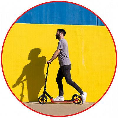 Scooter Wheel Height Folding Ride