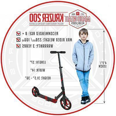 Kids / Scooter Wheel Folding Ride