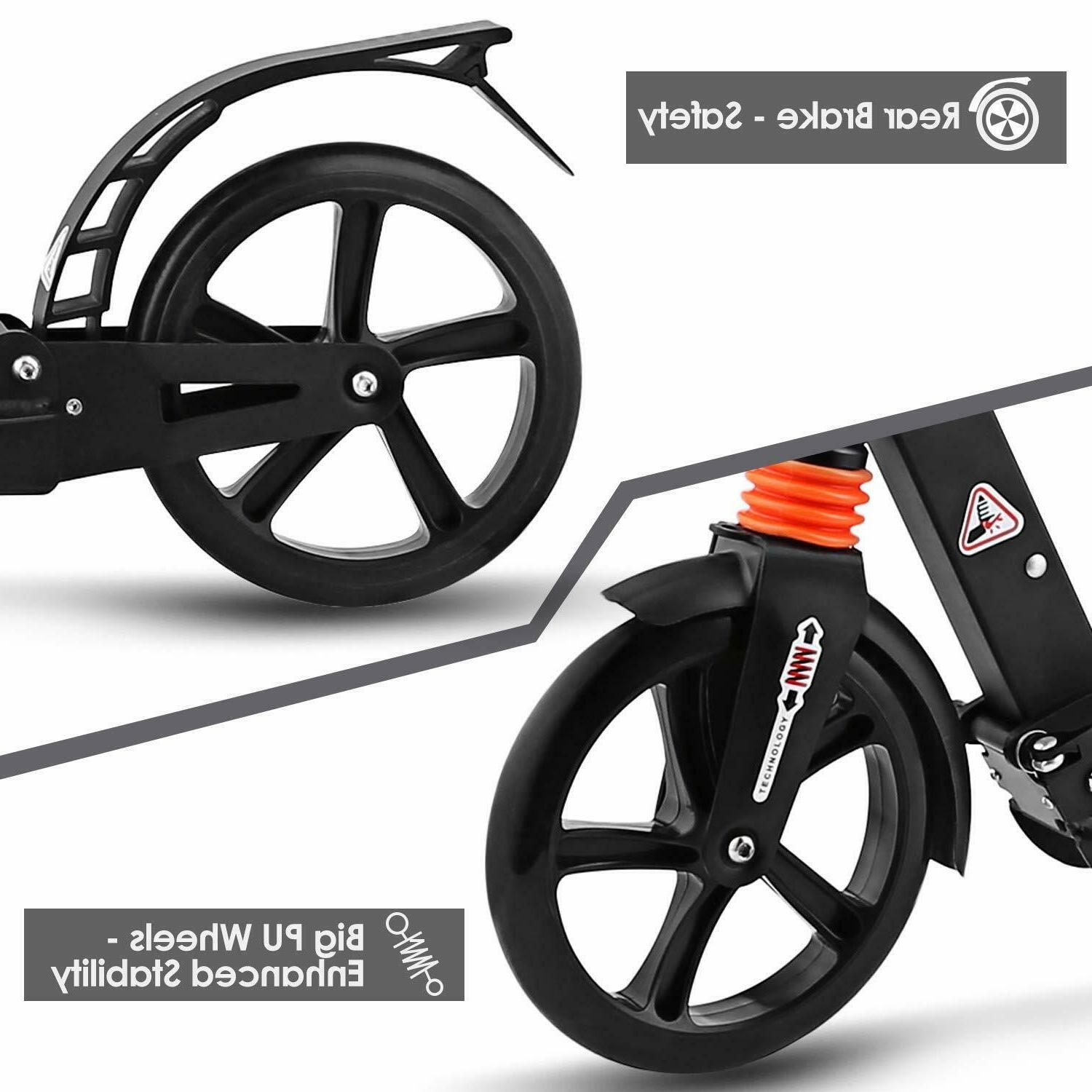 Ancheer Kids/Adult Scooter 3 Seconds w/ 200mm