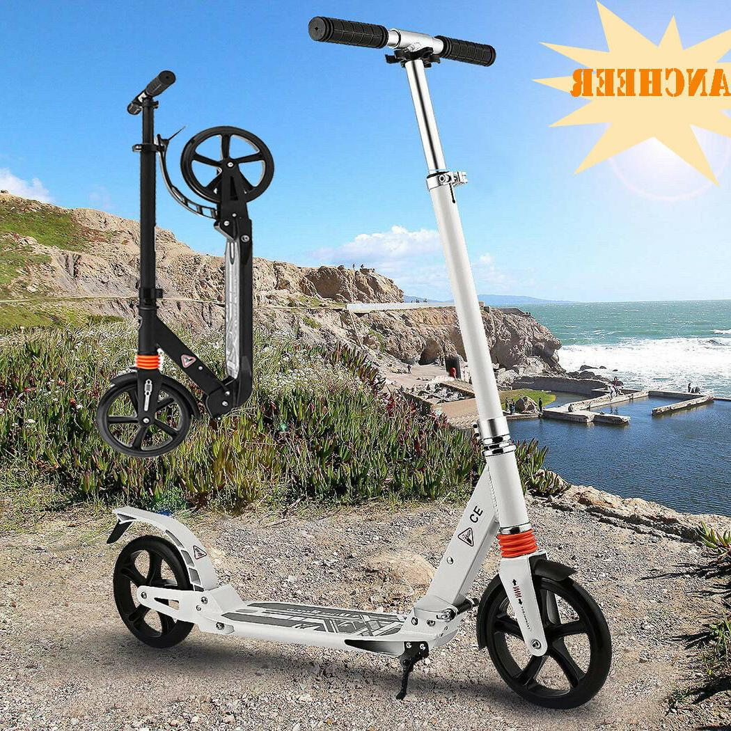 Scooter for Adults Teens Adjustable Foldable Dual Suspension