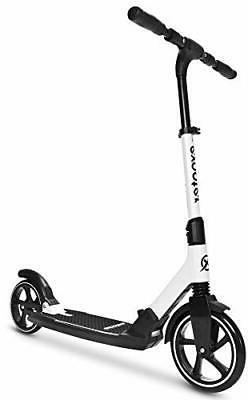 EXOOTER M7 Manual Adult Kick Scooter with Dual Suspension Sh