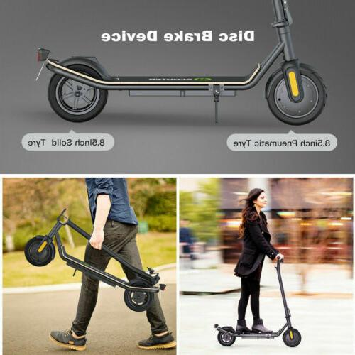 MAX E-Scooter 350W Portable Folding Electric Double