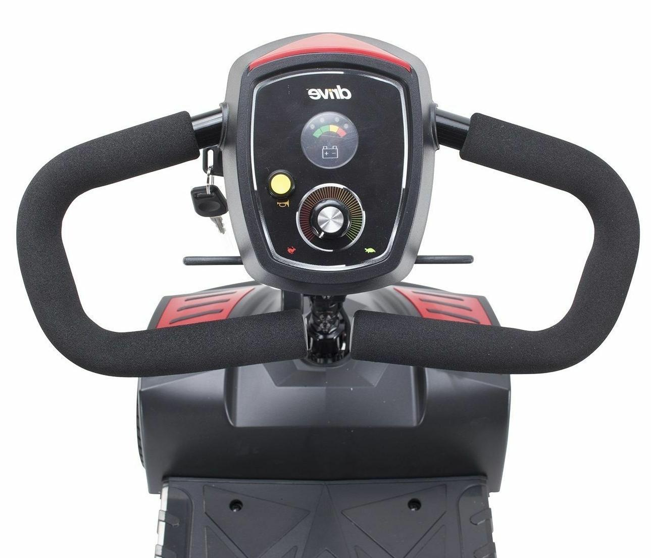 # SFSCOUT4 Spitfire Scout 4 Wheel Travel Power Scooter