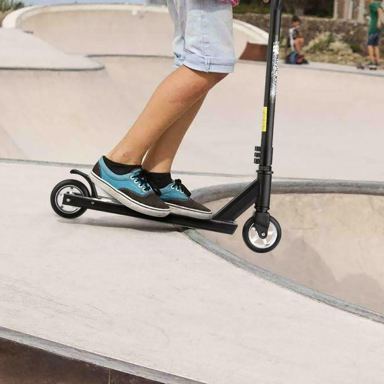 Pro Complete Stunt Kick Scooter Tricks Skatepark BMX Handlebar