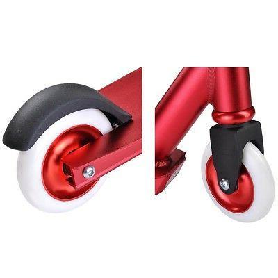 Pro Kit Aluminum Tricks Skatepark BMX Red