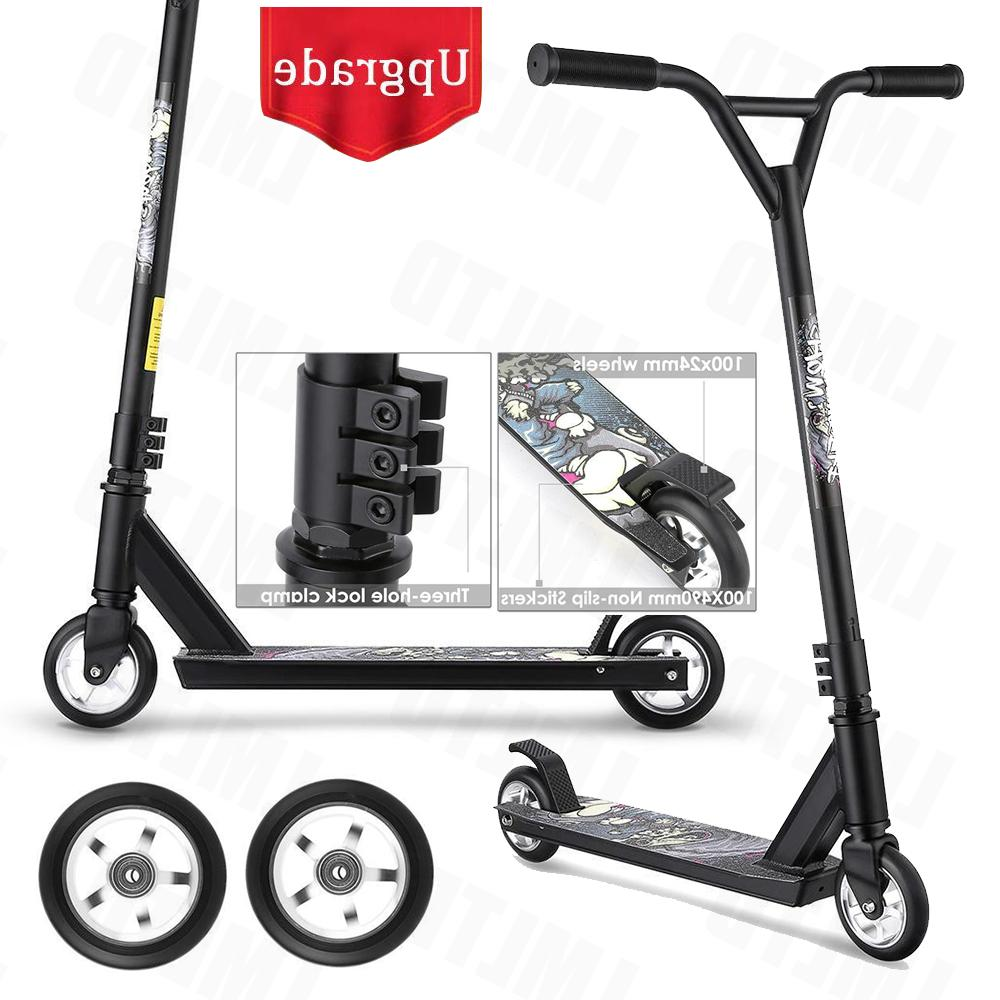 Pro. Stunt Scooter Kick Scooters Aluminum Trick Scooter for