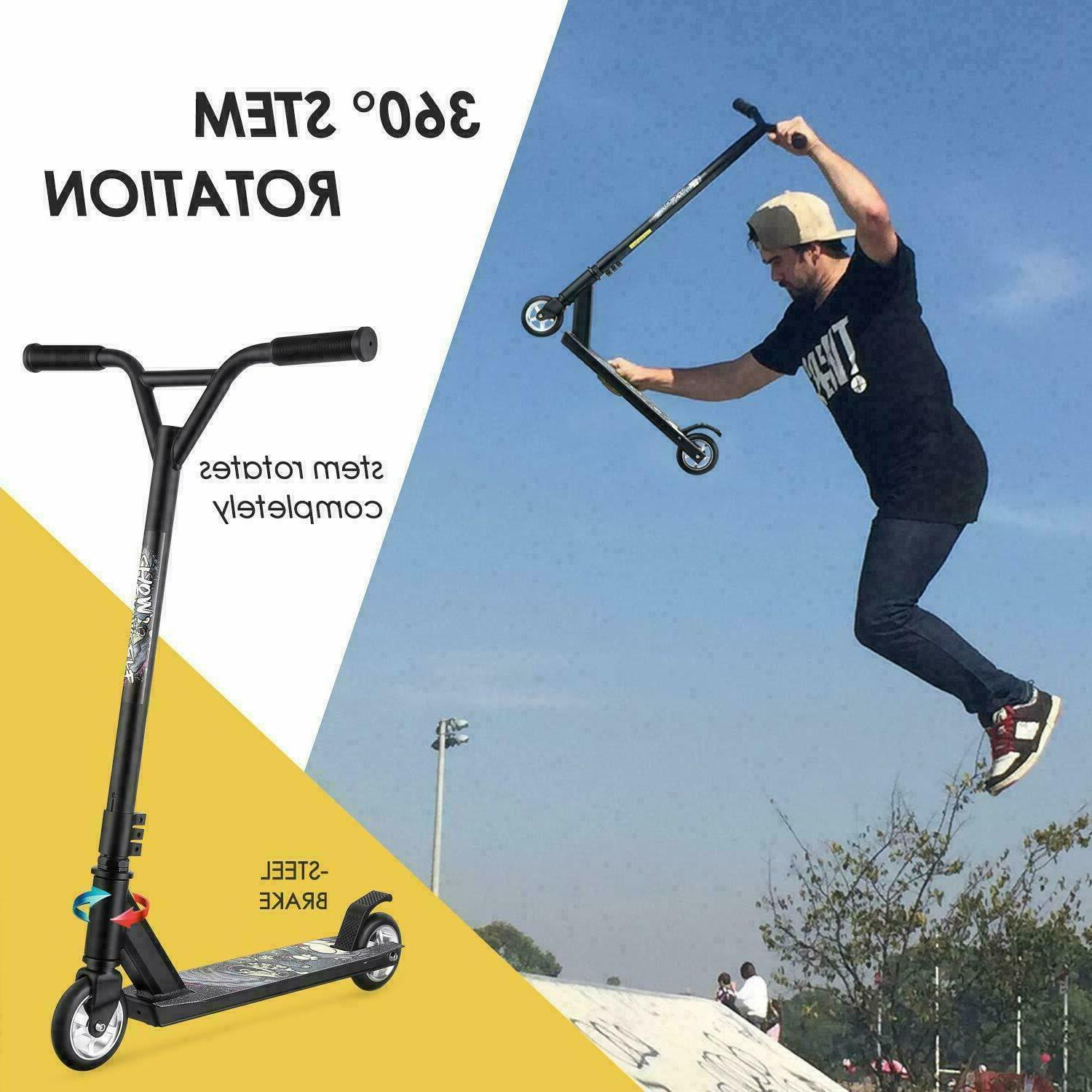 pro scooter for adults teens entry stunt