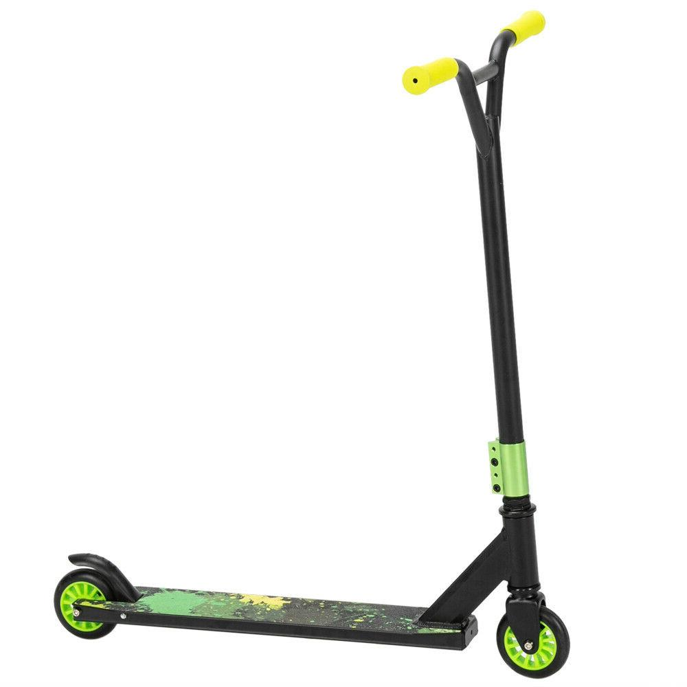 Pro Stunt Trick Scooter w/ Strong Aluminum Deck or Teens and