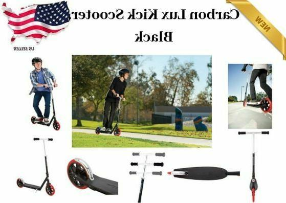 razor a5 carbon lux kick scooter black