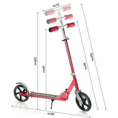 Silver Portable Kick Scooter Kids/Adult
