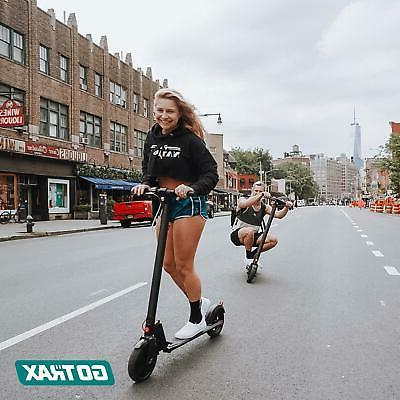 Ride On Commuting Scooter Air Folding 15.5mph PORTABLE