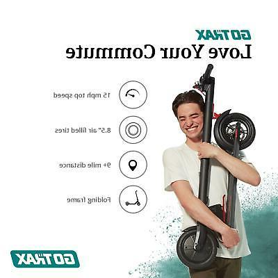 """Ride Scooter 8.5"""" Folding Adult PORTABLE"""
