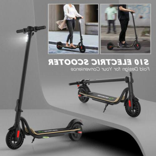 """MEGAWHEELS S10, FOLDING ELECTRIC SCOOTER, UP TO 16MPH, 8.0"""" HONEYCOMB"""