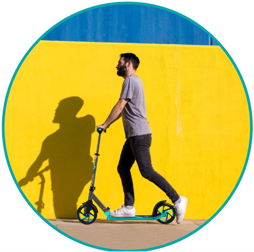 SCOOTER WHEEL Adults Teens Glider