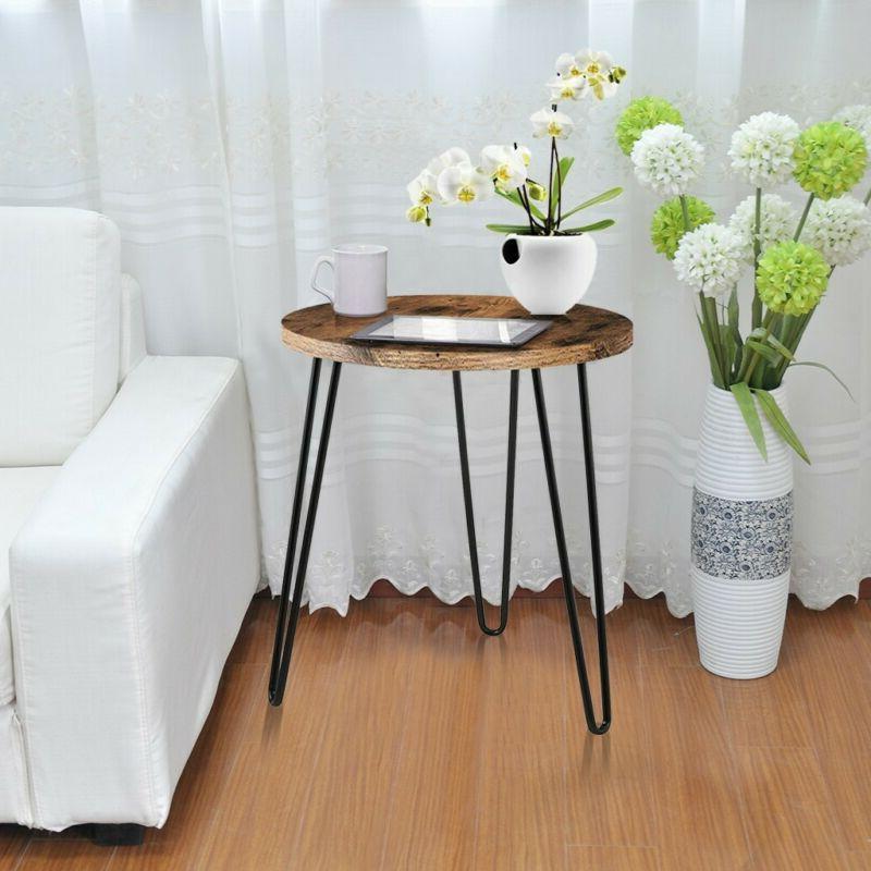 Simple Round Table Retro Home Telephone US❤