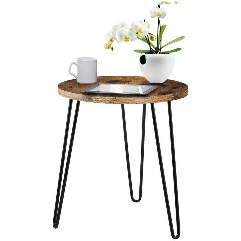 Simple Iron Coffee Table Bedroom Home US❤