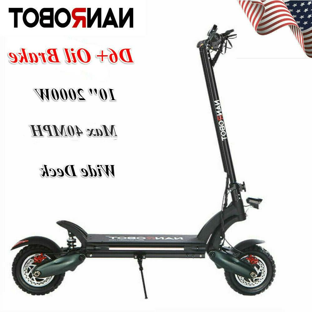 us d6 electric scooter 2000w adult dual